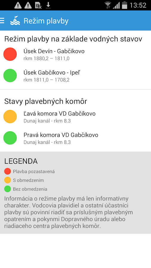 SlovRIS- screenshot