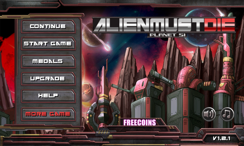 Alien Must Die! 3D (TD Game) - screenshot