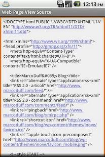 WebPageViewSource- screenshot thumbnail
