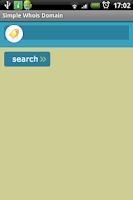 Screenshot of Simple Whois Domain