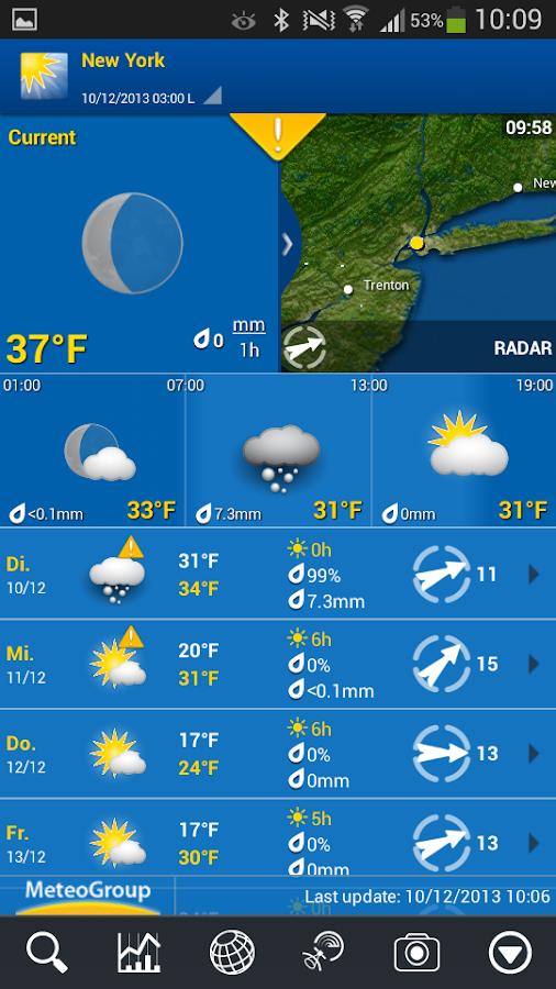 WeatherPro - screenshot