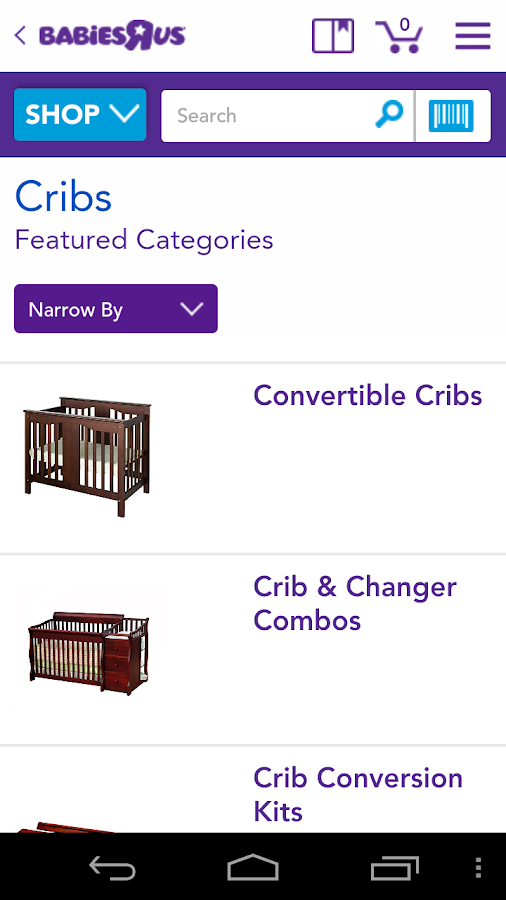 "Babies""R""Us Shopping - screenshot"