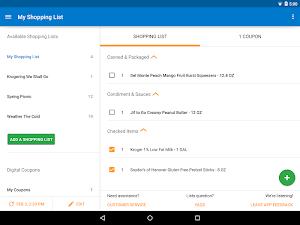 3 Kroger App screenshot