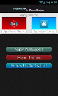 Magnetic HD Apex / Nova Theme - screenshot thumbnail