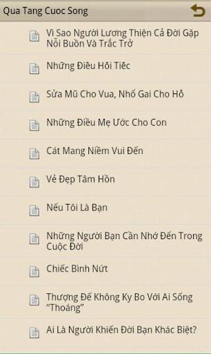 【免費書籍App】Qua Tang Cuoc Song-APP點子
