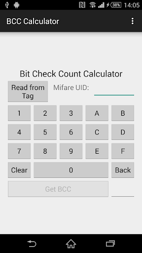 BCC Calculator