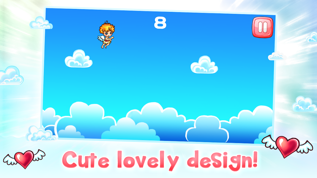Cupid Flight, love guru, flight games, guru app, flappy wings