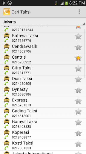 Telepon Taksi
