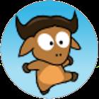 Running Gnu icon