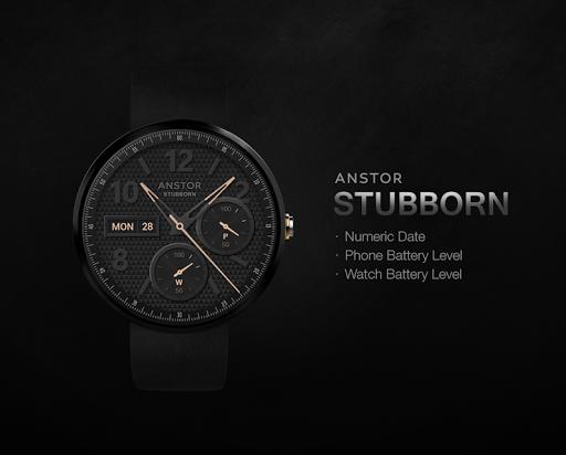 Stubborn watchface by Anstor