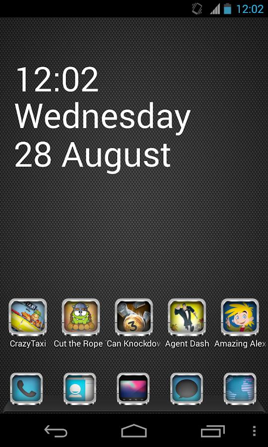 CHROME APEX NOVA GO ADW THEME - Android Apps on Google Play
