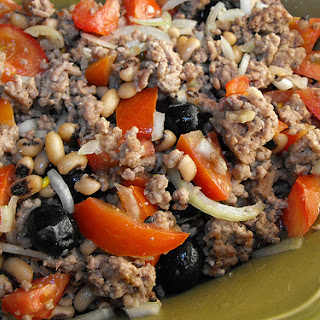 Ground Beef Salad.
