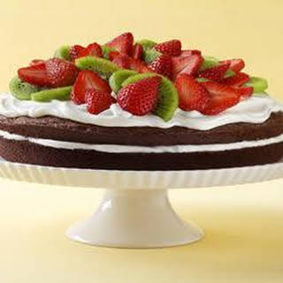 Easy Brownie Shortcake Dessert.