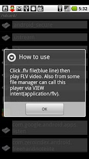 FLV Player alpha version