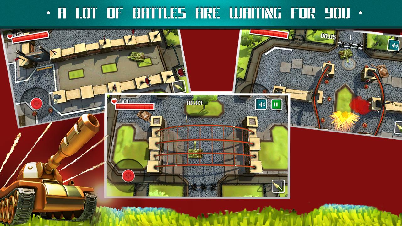 Battle Tanks 3D: Armageddon - screenshot