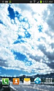 Clouds Live Walpaper