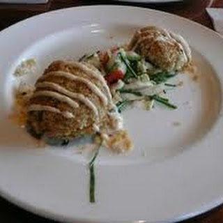 Crab Cakes with Cajun Aioli -Cap'n Jacks