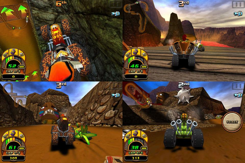 Tiki Kart 3D - screenshot