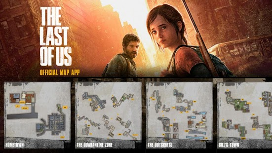 The Last of Us Map App - screenshot thumbnail