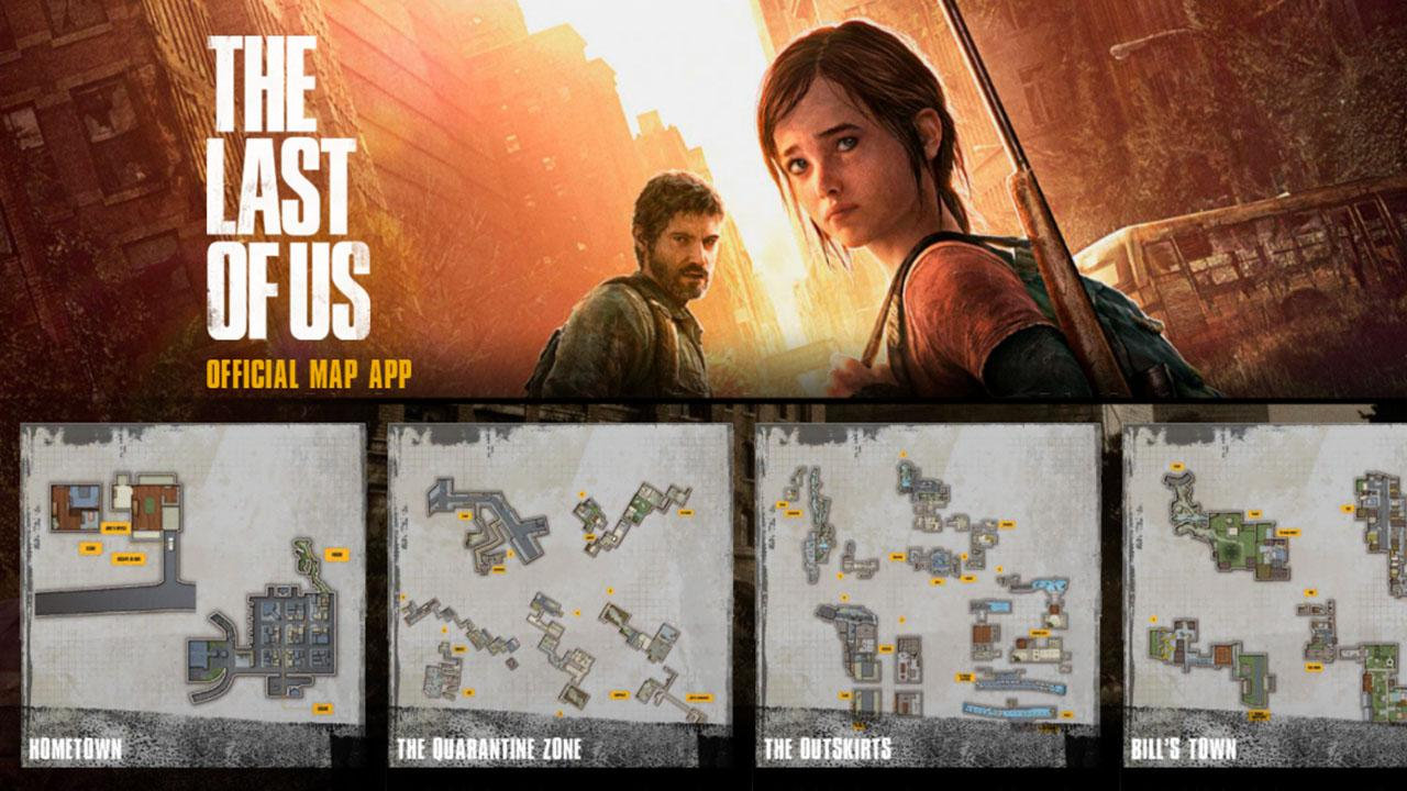 The Last of Us Map App - screenshot