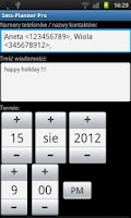 Screenshot of Sms-Planner Pro