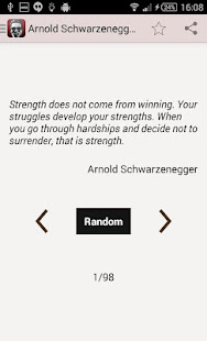 arnold schwarzenegger quotes apps on google play