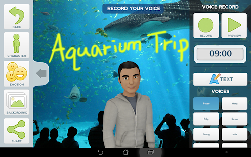 Tellagami - screenshot thumbnail