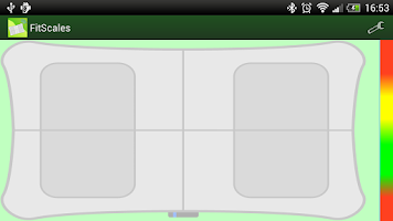Screenshot of FitScales (Wii Balance Board)