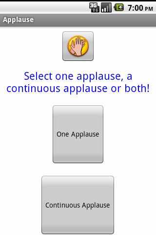 掌聲:拍拍你的手!