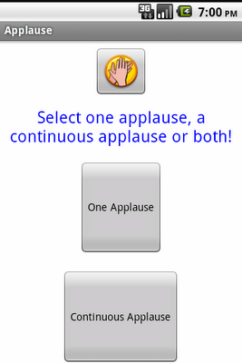 Applause: Clap your Hands! - screenshot