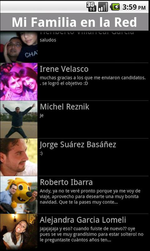Mi Familia en la Red- screenshot