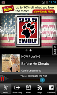 99.5 The Wolf - screenshot thumbnail