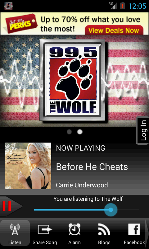 99.5 The Wolf - screenshot