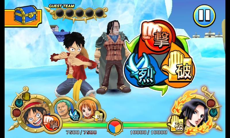 One Piece ARCarddass Formation - screenshot