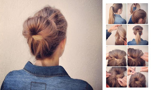 Girls Easy Hairstyles Steps