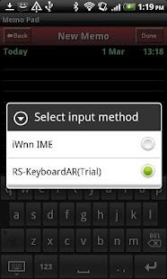 RS-KeyboardAR(TrialVersion)- screenshot thumbnail