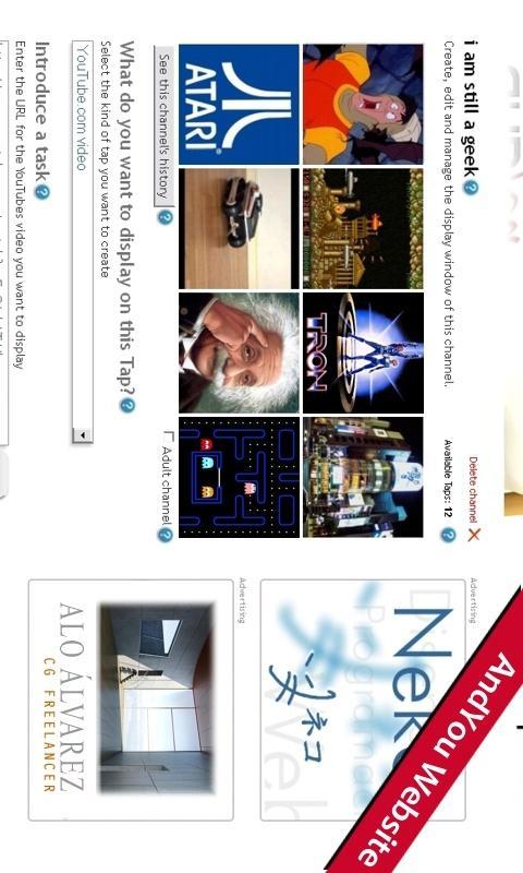 AndYou: captura de pantalla