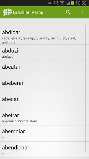 Brazilian Verbs