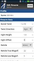 Screenshot of Applied Ballistics