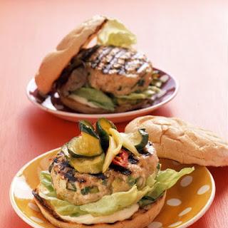 Our Favorite Turkey Burger.
