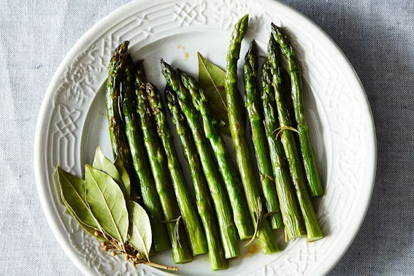 A sneaky way to show off asparagus' sweeter side.