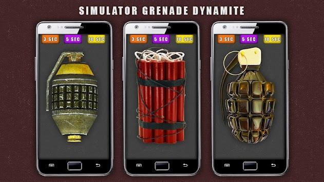 Simulator Grenade Dynamite apk screenshot