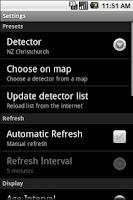 Screenshot of Mobile Storm