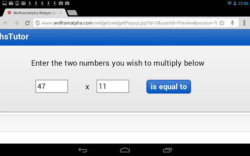 Long Multiplication Calculator