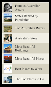World Travel Lists - AUSTRALIA screenshot 0