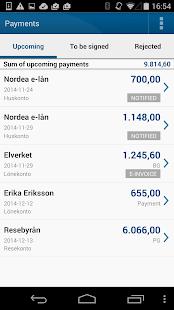 Nordea Mobile Bank – Sweden - screenshot thumbnail