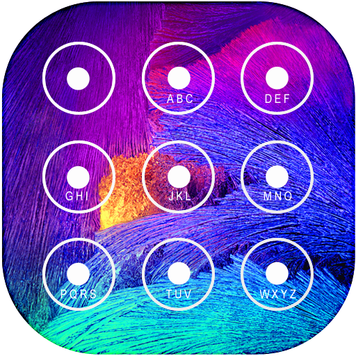 Lock Screen Galaxy Theme Icon