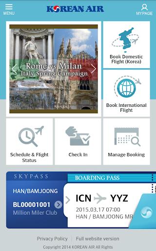 Korean Air 5.3.19 screenshots 1