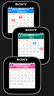 Watch And Calendar -Smartwatch