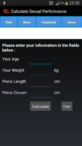 Calculate Sexual Performance
